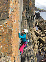 """Pictured: Lucy Foster during one of her previous trips.<br /> Re: A British climber was killed and his wife seriously injured living their """"big dream"""" on one of the toughest rock faces in the world.<br /> Andrew Foster, 32, and his wife Lucy, 28, were buried under tons of falling rock as they prepared for their climb.<br /> Experienced climber Andrew was killed but Lucy was rescued and airlifted to hospital where she was in a """"critical"""" condition.<br /> The couple were married a year ago and the three-week trip to the Yosemite National Park in California was part of their first wedding anniversary celebrations.<br /> They had ben training for the expedition for six months and flew off to the States on September 11 along with other members of their climbing club.<br /> Andrew and Lucy, from Cardiff, were scouting out a descent of the iconic rockface El Capitan when a """"sheet"""" of granite fell on them.<br /> Rangers on the national park beauty spot said a piece of granite 40 metres by 20 metres fell from a height of 200 metres while the couple were below.<br /> Patagonia, a company owned by Andrew Foster has confirmed the incident."""