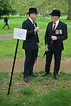 Combined Cavalry Old Comrades Association and parade Hyde Park London UK. The Queens Dragoon Guards. 2012