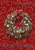 Marcello, CHRISTMAS SYMBOLS, WEIHNACHTEN SYMBOLE, NAVIDAD SÍMBOLOS, paintings+++++,ITMCXM1477,#XX# ,Christmas wreath