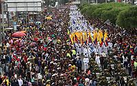 BOGOTÁ - COLOMBIA, 20-07-2018:Armada Nacional.Desfile Militar por la Avenida 68 de la capital , durante el 208 Aniversario del Día de la Independiencia Nacional ./Military Parade through Avenida 68 in the capital, during the 208th Anniversary of National Independence Day. Photo: VizzorImage / Felipe Caicedo / Satff