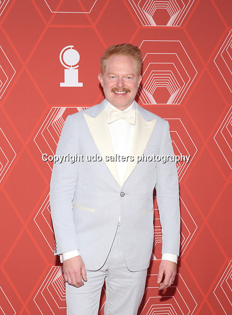 Jesse Tyler Ferguson attends the 74th Tony Awards-Broadway's Back! arrivals at the Winter Garden Theatre in New York, NY, on September 26, 2021.