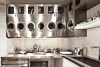 Inox kitchen cabinets