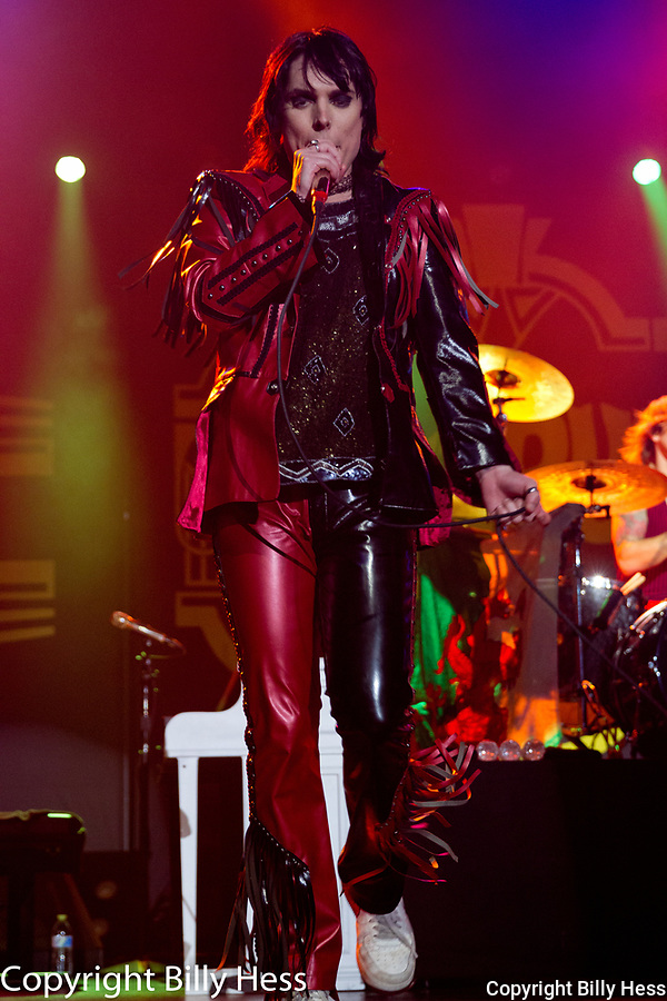 """The Struts are an English rock band from Derby, Derbyshire, England. The band consists of vocalist Luke Spiller, guitarist Adam Slack, bassist Jed Elliott, and drummer Gethin Davies. Formed in 2009, the original lineup was composed of Spiller, Slack, bassist Jamie Binns and drummer Rafe Thomas. <br /> The band's influences include Queen, The Darkness, the Rolling Stones, Aerosmith, Def Leppard, The Killers, The Smiths, Oasis, The Libertines, The Strokes, and My Chemical Romance. The Struts have been described as """"unabashedly over the top retro-fetishist classic rock"""" and """"glamorous and dangerous"""
