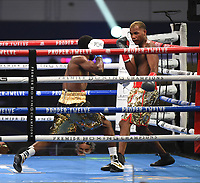 ARLINGTON, TX - DECEMBER 5: Frank Martin and Tyrone Luckey during their fight on Fox Sports PBC Pay-Per-View fight night at AT&T Stadium in Arlington, Texas on December 5, 2020. (Photo by Frank Micelotta/Fox Sports)