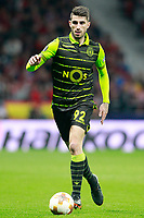 Sporting Clube de Portugal's Cristiano Piccini during Europa League Quarter-finals, 1st leg. April 5,2018.  *** Local Caption *** © pixathlon<br /> Contact: +49-40-22 63 02 60 , info@pixathlon.de