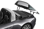 Car Stock 2015 Porsche 911 Targa 4S 2 Door Coupe Engine high angle detail view