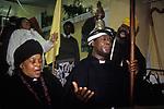 Mount Zion Spiritual Baptist Church.North London Uk. 1990s. 1990s