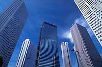Office buildings in Shinjuku District, Tokyo
