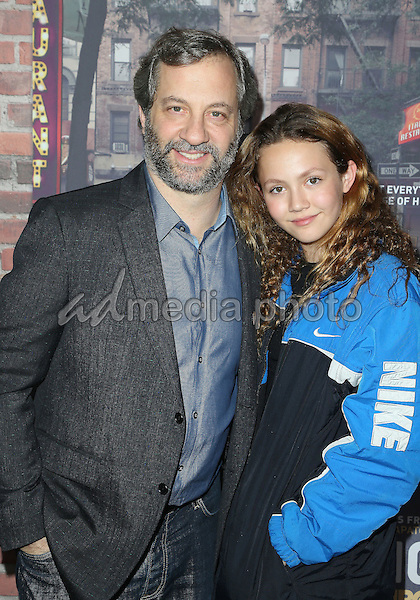 """15 February 2017 - Hollywood, California - Judd Apatow, Iris Apatow. Los Angeles premiere of HBO's """"Crashing"""" held at Avalon Hollywood. Photo Credit: AdMedia"""