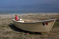 Barche sulla riva del mare..Boats on the shore of the Sea.....