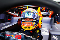 10th 2020, Nuerburgring, Nuerburg, Germany; FIA Formula 1 Eifel Grand Prix, Qualifying sessions;  23 Alexander Albon THA, Aston Martin Red Bull Racing