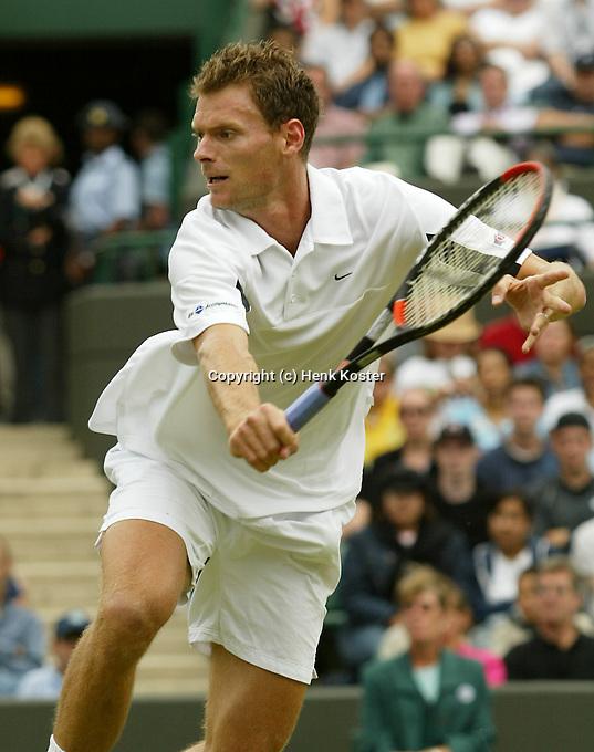 30-06-2004, London, tennis, Wimbledon,Sjeng Schalken