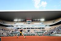 9th October 2020, Roland Garros, Paris, France; French Open tennis, Roland Garr2020;   Diego Schwartzman arg - court central philippe Chatrier