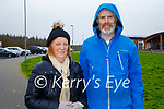 Enjoying a stroll in the Tralee Bay Wetlands on Monday, l to r: Monica Klement and Shane Lenihan.