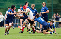 Saturday 4th September 20218 <br /> <br /> James McKillop during U18 Clubs inter-pro between Ulster Rugby and Leinster at Newforge Country Club, Belfast, Northern Ireland. Photo by John Dickson/Dicksondigital