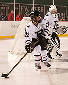 Kimmy Ganong (Bowdoin - 22), Kerri St. Denis (Bowdoin - 29) - The Babson College Polar Bears defeated the Connecticut College Camels 3-0 on Thursday, January 12, 2017, at Fenway Park in Boston, Massachusetts.