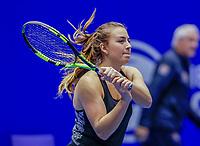 Rotterdam, Netherlands, December 12, 2017, Topsportcentrum, Ned. Loterij NK Tennis, Liv Geurts (NED)<br /> Photo: Tennisimages/Henk Koster