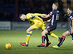 Ross County v St Johnstone…27.12.17…  Global Energy Stadium…  SPFL<br />Denny Johnstone and Jamie Lindsay<br />Picture by Graeme Hart. <br />Copyright Perthshire Picture Agency<br />Tel: 01738 623350  Mobile: 07990 594431