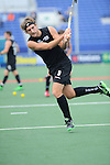 The Hague, Netherlands, June 03: Blair Hilton #9 of New Zealand warms up before the field hockey group match (Men - Group B) between South Africa and the Black Sticks of New Zealand on June 3, 2014 during the World Cup 2014 at GreenFields Stadium in The Hague, Netherlands. Final score 0:5 (0:3) (Photo by Dirk Markgraf / www.265-images.com) *** Local caption ***