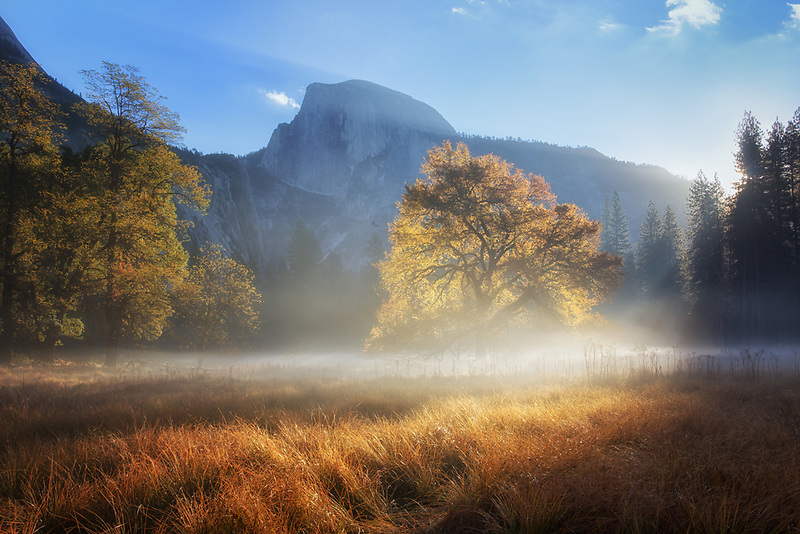 Sunrise in Yosemite National Park, California