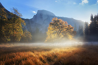 Sunrise in Yosemite National Park, California