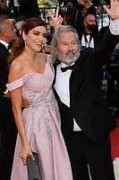"""CANNES, FRANCE. July 6, 2021: Blanca Blanco & John Savage at the premiere of """"Annette"""" at the gala opening of the 74th Festival de Cannes.<br /> Picture: Paul Smith / Featureflash"""