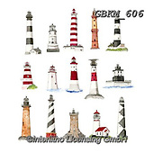 Kate, MASCULIN, MÄNNLICH, MASCULINO, paintings+++++Lighthouses 1.,GBKM606,#m#, EVERYDAY, sticker,stickers