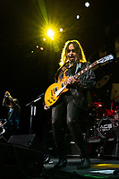 WEST PALM BEACH, FL - OCTOBER 10: Ace Frehley performs at The iTHINK Financial Amphitheatre on October 10, 2021 in West Palm Beach Florida. <br /> CAP/MPI140<br /> ©MPI140/Capital Pictures