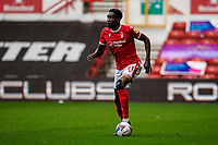 3rd October 2020; City Ground, Nottinghamshire, Midlands, England; English Football League Championship Football, Nottingham Forest versus Bristol City; Sammy Ameobi of Nottingham Forest looks up for his options