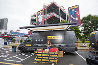 NASHVILLE, TN - SEPTEMBER 5: Only Forward Art Series featuring Panini at US Soccer FanHQ at Nissan Stadium on September 5, 2021 in Nashville, Tennessee.