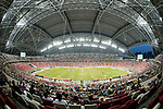 The National Stadium during the match Scotland vs Wales, Day 2 of the HSBC Singapore Rugby Sevens as part of the World Rugby HSBC World Rugby Sevens Series 2016-17, on 16 April 2017 in Singapore. Photo by Victor Fraile / Power Sport Images