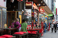 Reeperbahn in Hamburg St.Pauli, Deutschland