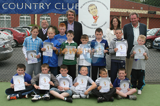 Under tens at the Presentation for the Welcome Youth Project with the Des Smyth Youth Foundation...Photo NEWSFILE/Jenny Matthews.(Photo credit should read Jenny Matthews/NEWSFILE)....This Picture has been sent you under the condtions enclosed by:.Newsfile Ltd..The Studio,.Millmount Abbey,.Drogheda,.Co Meath..Ireland..Tel: +353(0)41-9871240.Fax: +353(0)41-9871260.GSM: +353(0)86-2500958.email: pictures@newsfile.ie.www.newsfile.ie.FTP: 193.120.102.198.