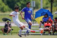 Frisco, TX - Thursday, June 25, 2016: USSDA - U15/U16 2016 June Playoffs and Showcase