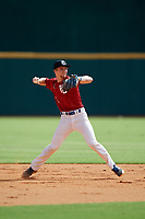 Jonathan Vastine (4) of Bartow Senior High School in Bartow, FL during the Perfect Game National Showcase at Hoover Metropolitan Stadium on June 17, 2020 in Hoover, Alabama. (Mike Janes/Four Seam Images)