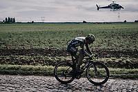 Baptiste Planckaert (BEL/Intermarché - Wanty - Gobert)<br /> <br /> 118th Paris-Roubaix 2021 (1.UWT)<br /> One day race from Compiègne to Roubaix (FRA) (257.7km)<br /> <br /> ©kramon