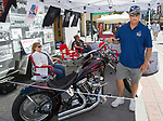 Stuart Bisland, founder and executive director of Patriots Honor during the Street Vibrations Spring Rally in Downtown Reno on Saturday, June 2 , 2018