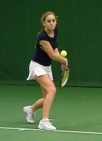 05-12-10, Tennis, Almere, Reaal WJC Masters, Britt Schreuder