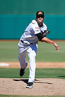 Mesa Solar Sox pitcher Nick Tropeano #50, of the Houston Astros organization, during an Arizona Fall League game against the Peoria Javelinas at HoHoKam Park on October 15, 2012 in Mesa, Arizona.  Peoria defeated Mesa 9-2.  (Mike Janes/Four Seam Images)