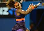 SERENA Williams (USA) Wins at Australian Open in Melbourne Australia on 21st January 2013
