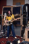 VAN HALEN, RECORDING STUDIO,1978, NEIL ZLOZOWER