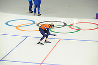 OLYMPIC GAMES: PYEONGCHANG: 09-02-2018, Gangneung Oval, Training session, Koen Verweij (NED), ©photo Martin de Jong