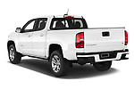 Car pictures of rear three quarter view of 2021 Chevrolet Colorado LT 4 Door Pick-up Angular Rear