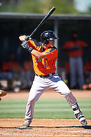San Francisco Giants Zack Bowers (7) during an Instructional League game against the Los Angeles Angels of Anaheim on October 13, 2016 at the Tempe Diablo Stadium Complex in Tempe, Arizona.  (Mike Janes/Four Seam Images)