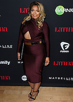 WEST HOLLYWOOD, CA, USA - NOVEMBER 13: Yesi Ortiz arrives at the Latina Magazine's '30 Under 30' Party held at SkyBar at the Mondrian Los Angeles on November 13, 2014 in West Hollywood, California, United States. (Photo by Xavier Collin/Celebrity Monitor)