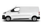 Car Driver side profile view of a 2016 Peugeot Expert Premium 4 Door Cargo Van Side View