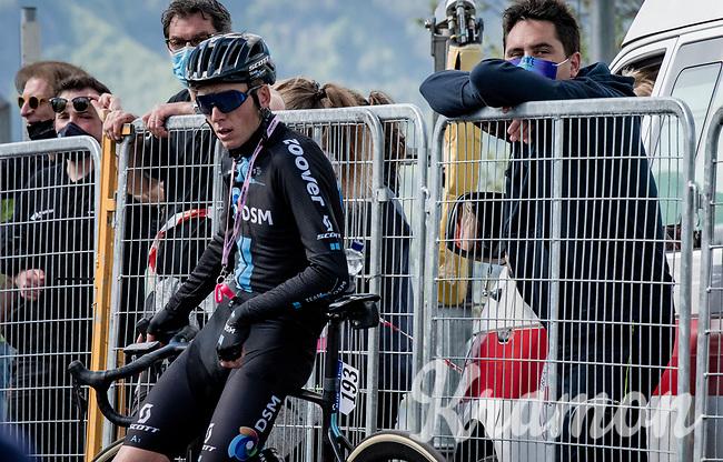 Romain Bardet (FRA/DSM) after finishing <br /> <br /> 104th Giro d'Italia 2021 (2.UWT)<br /> Stage 19 from Abbiategrasso to Alpe di Mera (Valsesia)(176km)<br /> <br /> ©kramon