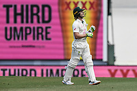 7th January 2021; Sydney Cricket Ground, Sydney, New South Wales, Australia; International Test Cricket, Third Test Day One, Australia versus India; Will Pucovski of Australia walks off the field as the third umpires reviews the catch by Manish Pandey of India