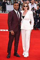 "John Boyega and director, Kathryn Bigelow<br /> attending the premiere of ""Detroit"" at the Curzon Mayfair, London. <br /> <br /> <br /> ©Ash Knotek  D3294  10/08/2017"