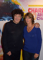 Robert CHARLEBOIS et sa femme Laurence - Representation Robert Charlebois au theatre Bobino - 11 avril 2016 - Paris - France